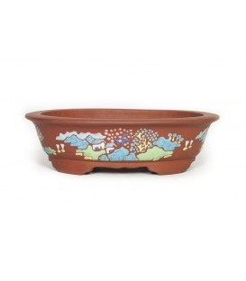 Bonsai Pot Chinese used U-0412