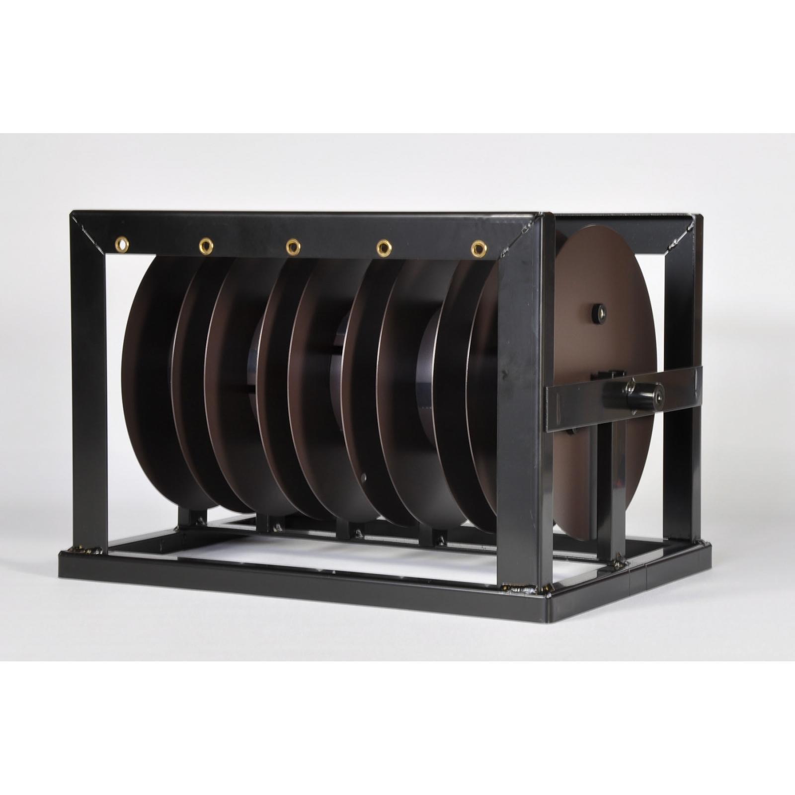 Expendedor Alambre 5 rollos (Color Negro)