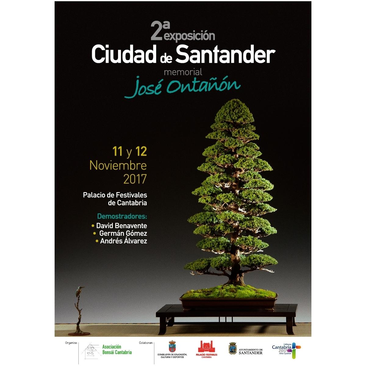 2ª Exposicion Ciudad de Santander - Memorial Jose Ontañon.