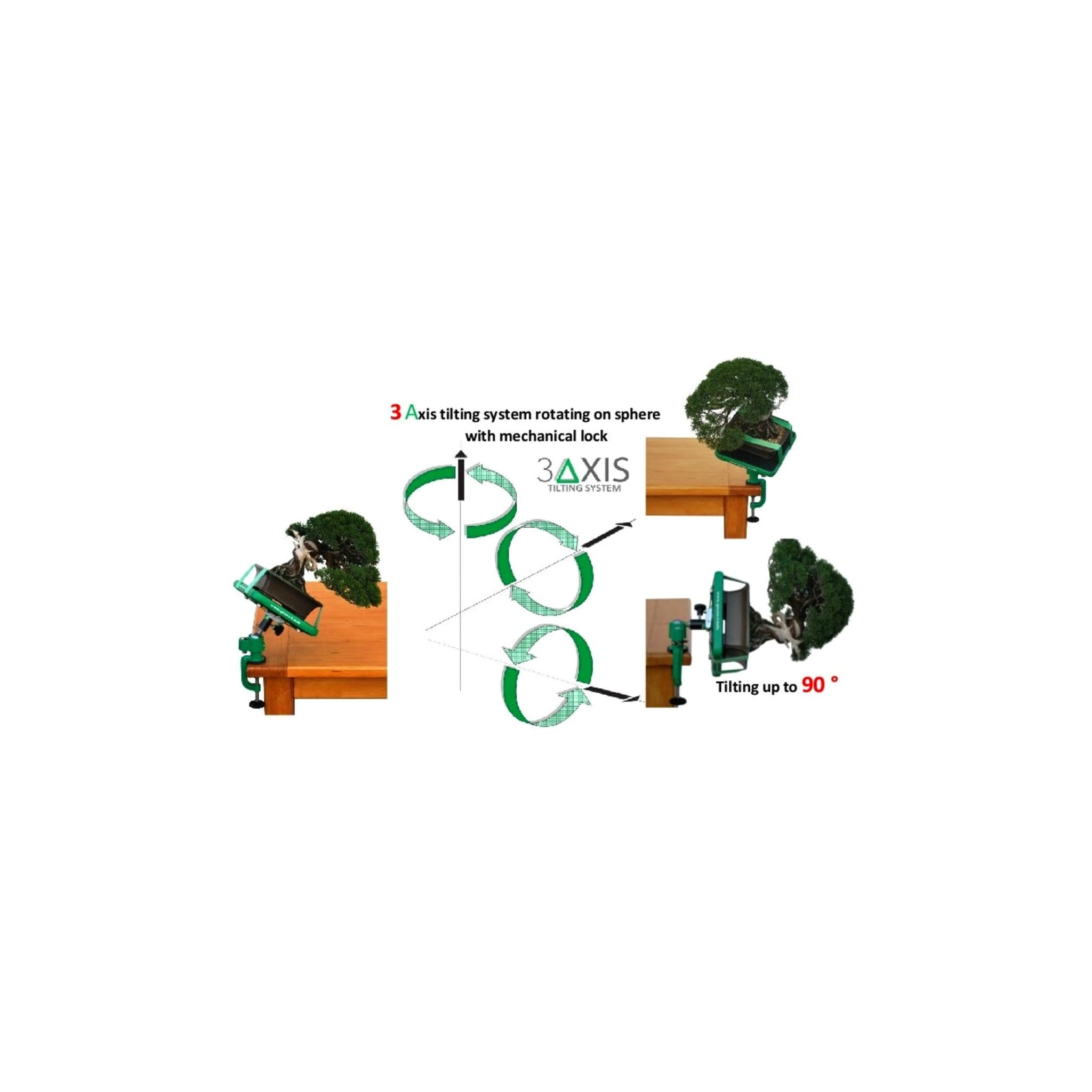 Torno Hidráulico GREEN-T PLUS