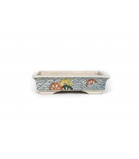 Gebrauchte Bonsai Hosui Echizen Topf