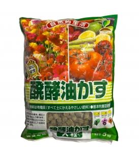 Hanagokoro Coarse Grain Fertilizer 5 Kg.