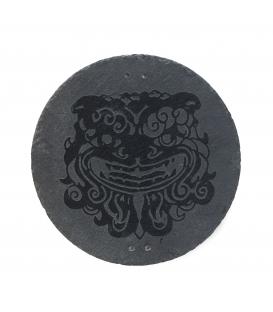 Piedra Pizarra Grabada 30 cm