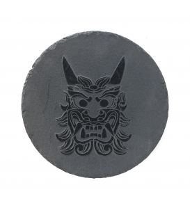 Pietra di ardesia incisa 30 cm