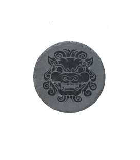 Pietra di ardesia incisa 20 cm