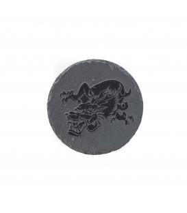 Stein Gravierte Schiefer 20 cm