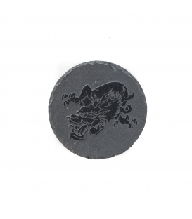 Piedra Pizarra Grabada 20 cm