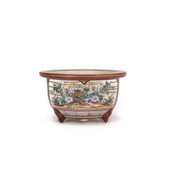 Bonsai Pot Kutani Used